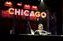 Tech rehearsal for Chicago